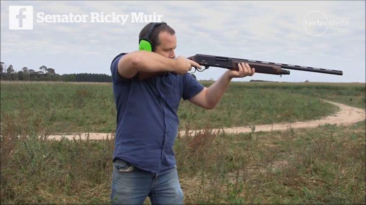 former senator Ricky Muir advocated for the Adler shotgun
