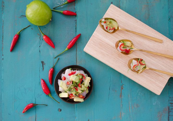 Bring this dish to life with fresh chilli and lots of lime.