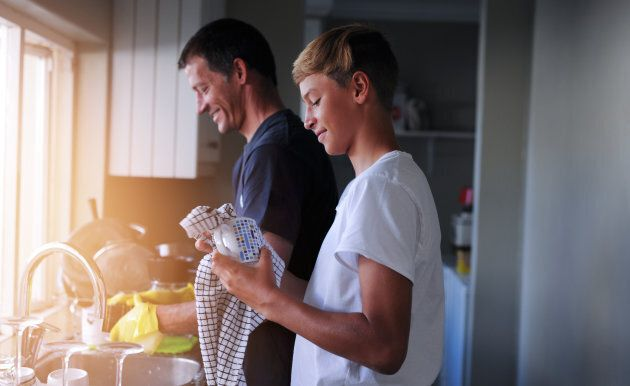 There are ways to get more out of doing everyday chores.