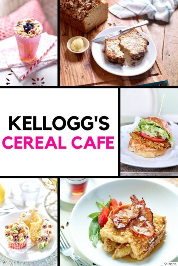 Kellogg's Cereal Cafe Opens In Sydney (You'll Need More Than A Spoon To Eat These Amazing