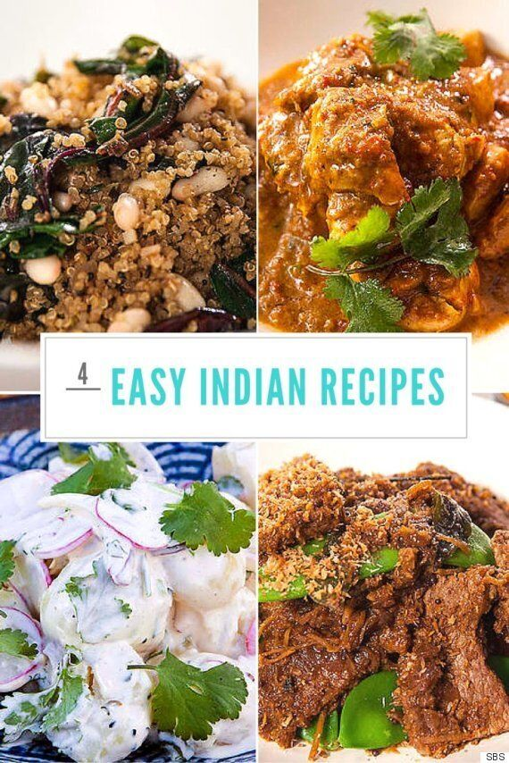 Four Easy Indian Recipes You Can Make In 30