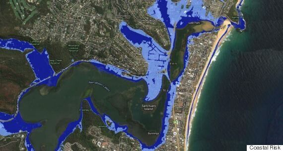 New Site 'Coastal Risk' Shows You How Your House Will Be Affected By Sea-Level