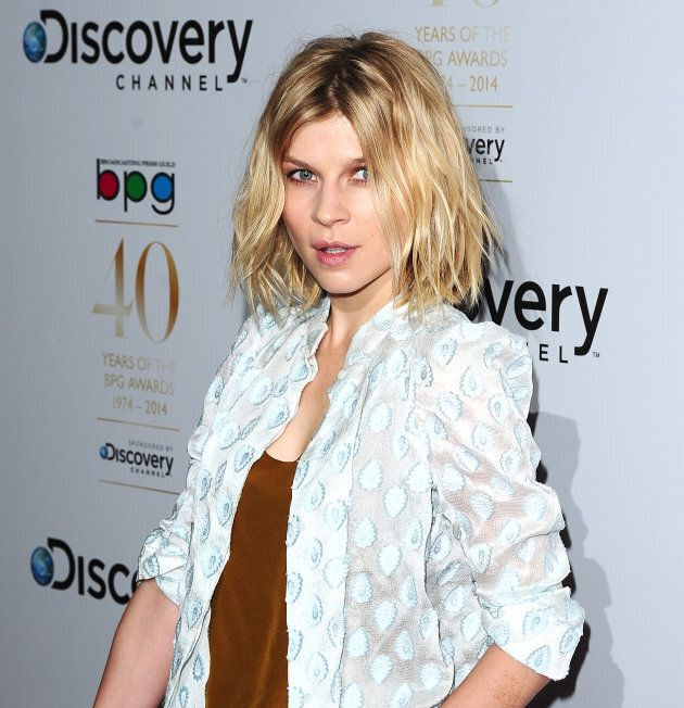 Clemence Poesy with the ultimate undone French girl hair.