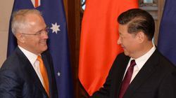 Turnbull In China: PM And President Xi Jinping Talk South China