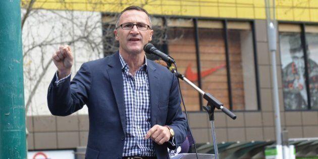 MELBOURNE, AUSTRALIA - SEPTEMBER 12: Leader of the parliamentary caucus of the Australian Greens Richard...