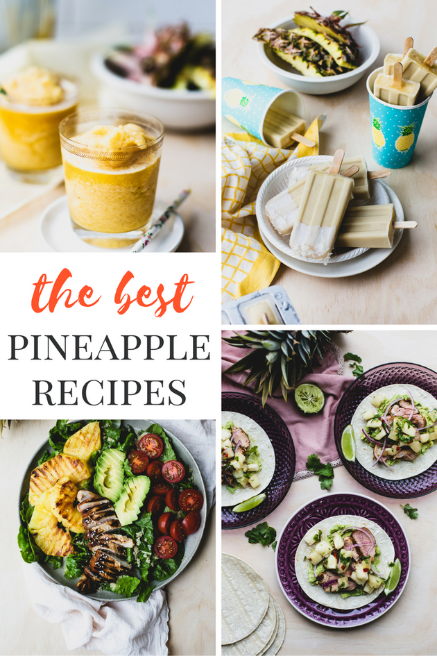 6 Surprisingly Awesome Pineapple Recipes You Should Try This