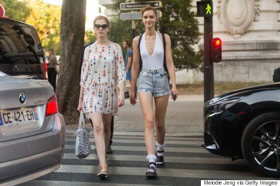 Socks With Sandals Are Happening At New York Fashion
