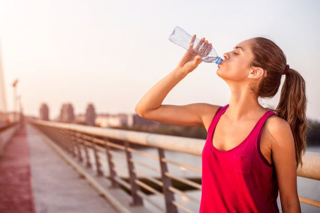 People who are physically active will need more water throughout the