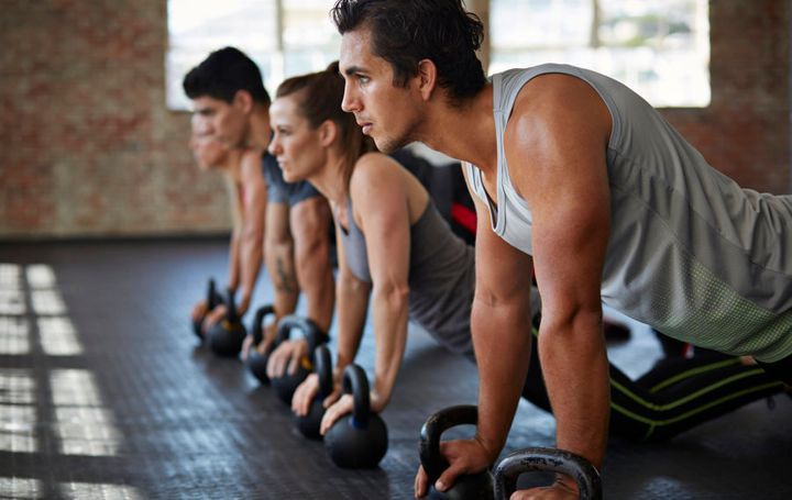 This is the right amout of people for a boutique fitness class -- it means you can get proper advice and guidance from the trainer.