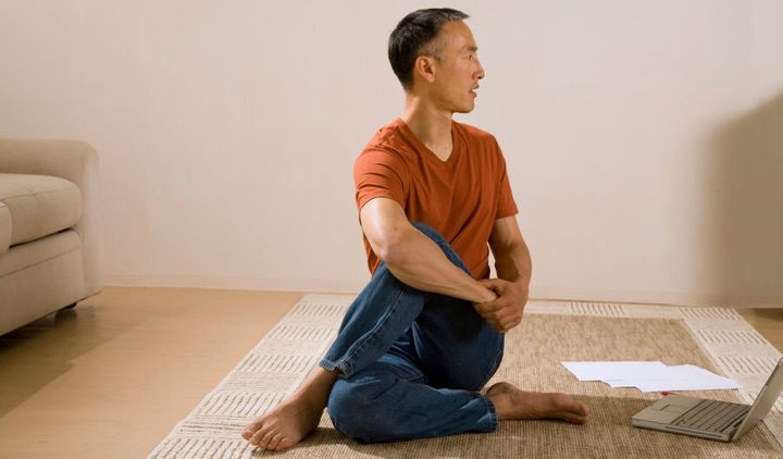 Gentle yoga is the perfect activity for rest days.