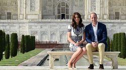William And Kate Lovingly Recreate Princess Diana's Iconic Taj Mahal