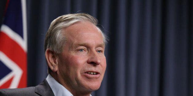 WA Premier Colin Barnett feels personally let down by Dean