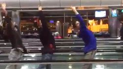 Stuck In An Airport, These Ballet Dancers Made The Best Layover Video