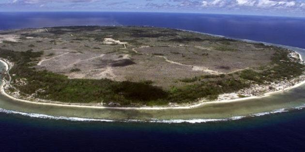 NAURU, NAURU: The barren and bankrupt island state of the Republic of Nauru awaits the arrival of 521...