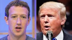 Trump Dismisses Possible Facebook Plot Because 'I'm One Of Their Great