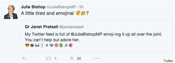 Why Is Julie Bishop 'Tired And