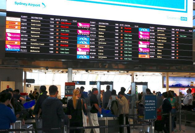 Passengers have been told to expect delays going through airport security.