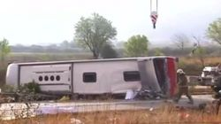 Spain Student Bus Crash: 13 Dead After Coach Overturns On