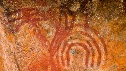 Aboriginal Rangers Discover Rock Art Sites While Conducting Burn-Offs In Arnhem