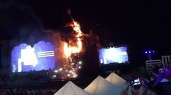 22,000 Evacuated As Fire Engulfs Music Festival In