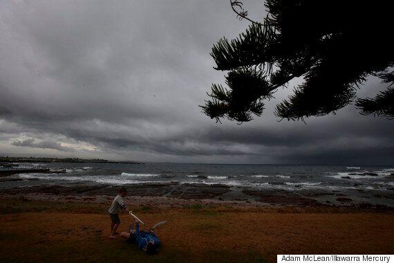 Hail And Heavy Rainfall Strike Sydney In Severe