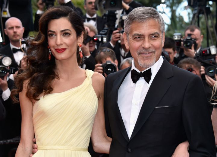 Amal Clooney and actor George Clooney, pictured here at the  69th annual Cannes Film Festival in May, are passionate advocates of human rights.