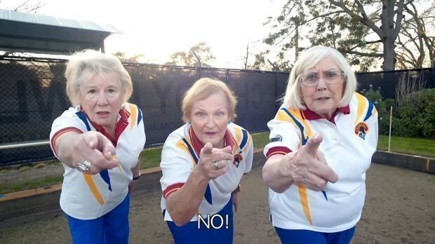 The ladies of Chaddy Bowls aren't going to take the council's decision lying