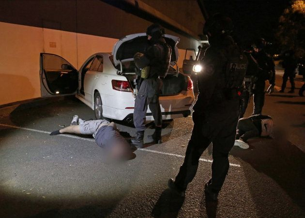 Operation Rosenborg Joint Counter Terrorism Team arrest. Members of the NSW Joint Counter Terrorism Team...