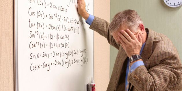 Senior maths teacher suffering emotional