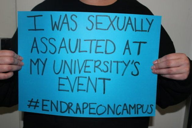 A photo campaign by End Rape on Campus, launched ahead of the report.
