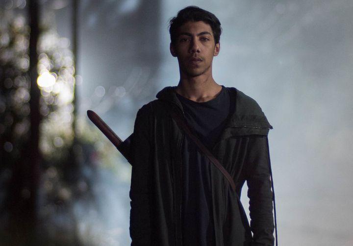 Hunter Page-Lochard as Koen in 'Cleverman'.
