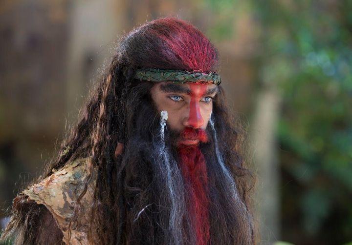 Season two newcomer, Clarence Ryan as Jarli the Bindawu warrior.