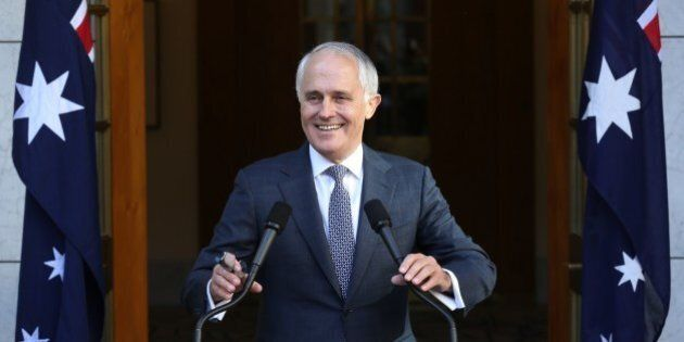 Malcolm Turnbull Announces His New-Look