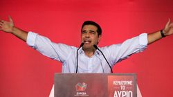 Tsipras' Syriza Party Headed For Victory In Greek