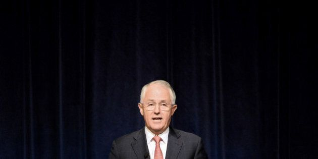 Malcolm Turnbull, Australia's prime minister, delivers the annual Lowy Institute lecture hosted by the...
