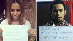 Message To Australia: 'Hands Off Timor's