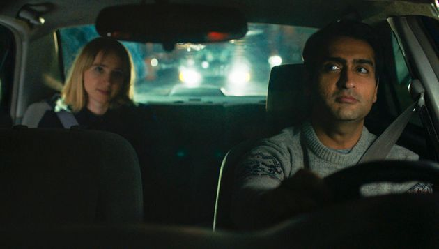 Zoe Kazan and Kumail Nanjiani in 'The Big