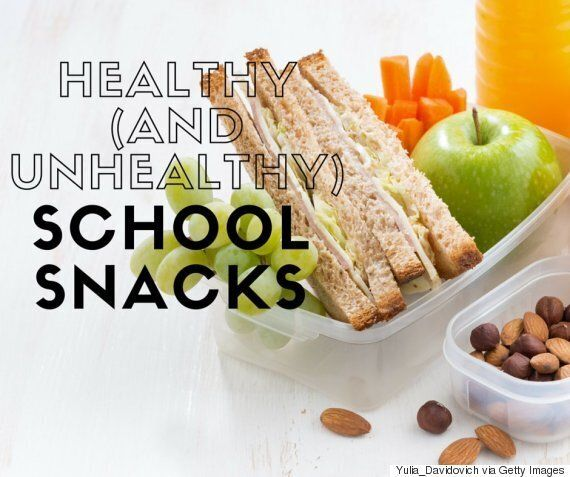 Healthy Store-Bought Snacks For Kids, Plus Easy Home-Made School Snack