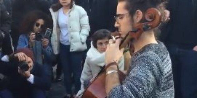 Cello Tribute To People Killed In Brussels Terror