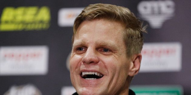 Riewoldt announces he's nicking off earlier this