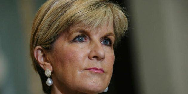 Foreign Affairs Minister Julie Bishop: