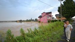 Japan floods: City Of Joso Hit By 'Unprecedented'
