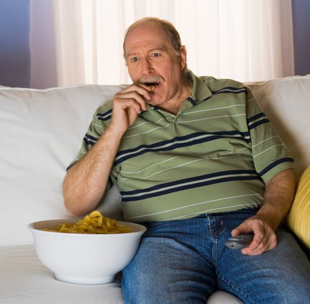 Watching TV while eating is a typical example of mindless