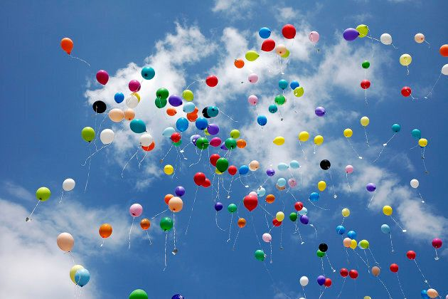 Releasing balloons has a devastating impact on the