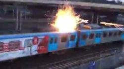 Commuter Chaos As Electrical Sparks Ground Melbourne