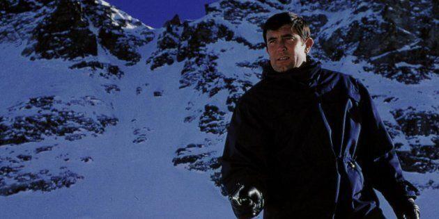 George Lazenby in the Swiss Alps 'On Her Majesty's Secret