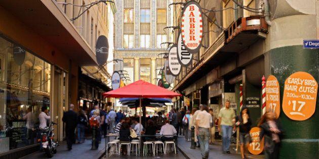 Degraves Street, Melbourne, Victoria, Australia