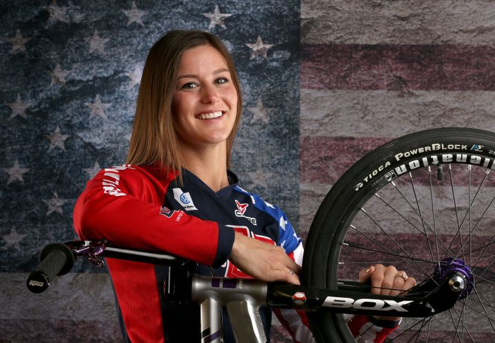 Willoughby's fiance and fellow BMX Olympian Alise Post says the couple still plan on walking down the aisle together next year.