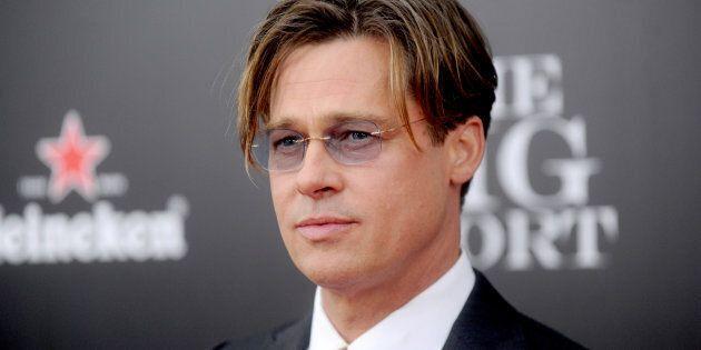 Brad Pitt attends