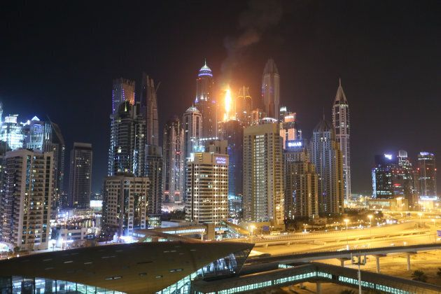 Fire Rips Through 'Torch Tower' Dubai
